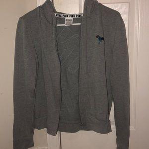 Grey PINK jacket